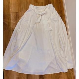 コウベレタス(神戸レタス)のロングスカート 白 ホワイト ワンサイズ(ロングスカート)