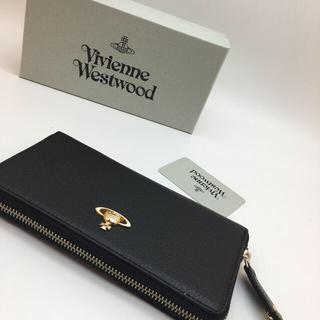 ヴィヴィアンウエストウッド(Vivienne Westwood)の新品未使用 ヴィヴィアンウエストウッド 長財布 Vivienne ブラック(長財布)