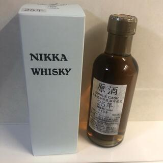 ニッカウヰスキー - 未開栓 余市蒸留所 ウイスキー シングルカスク 原酒 25年 ミニボトル