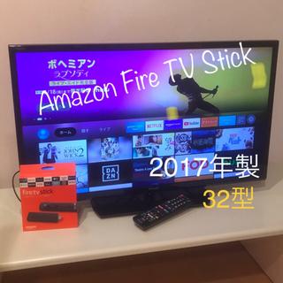 SHARP - 2017年製 シャープ 32型 液晶テレビ、Fire TV Stick のセット
