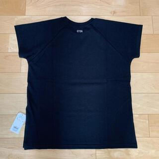 GYDA - GYDA リブネックUSA tシャツ W100