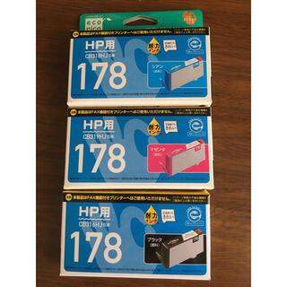 ヒューレットパッカード(HP)のエコリカ プリンターインク 3色(PC周辺機器)