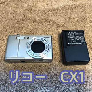 リコー(RICOH)のリコー デジカメCX1 ジャンク(コンパクトデジタルカメラ)