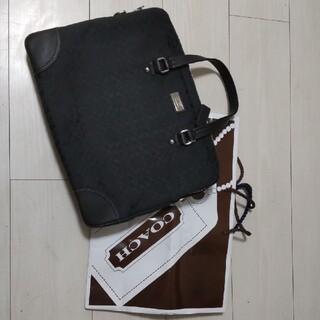 コーチ(COACH)の【未使用】コーチ COACH ビジネスバッグ F70288 ブラック (ビジネスバッグ)