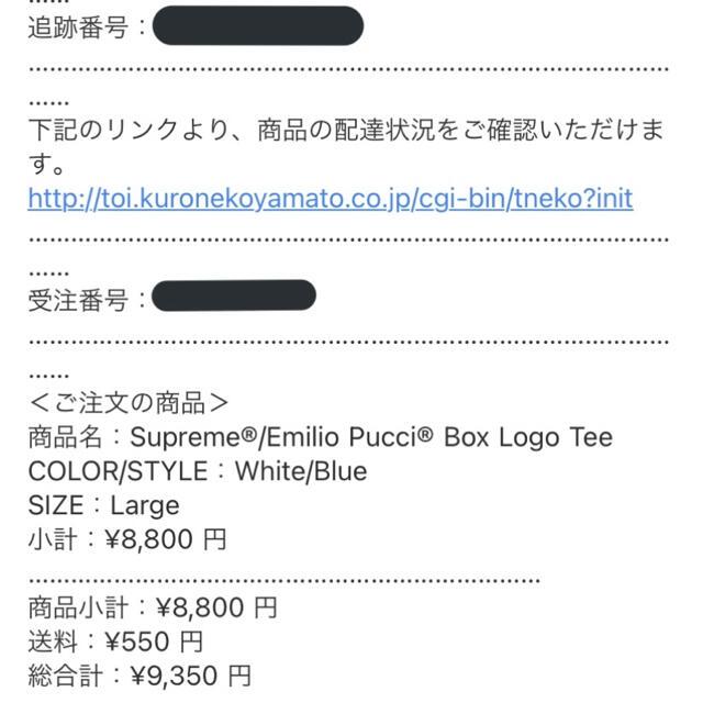 Supreme(シュプリーム)のSupreme®/Emilio Pucci® Box Logo Tee メンズのトップス(Tシャツ/カットソー(半袖/袖なし))の商品写真