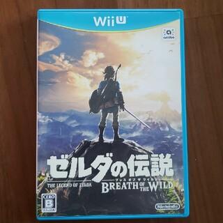ウィーユー(Wii U)のゼルダの伝説 ブレス オブ ザ ワイルド Wii U(家庭用ゲームソフト)