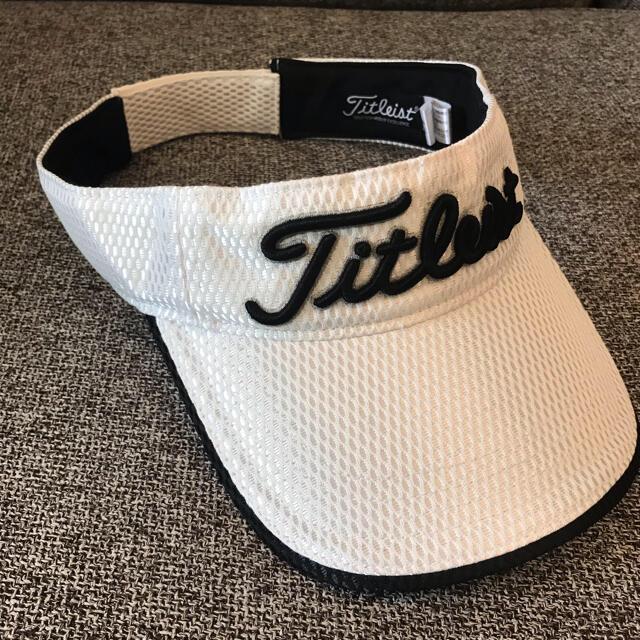 Titleist(タイトリスト)のタイトリスト サンバイザー メンズの帽子(サンバイザー)の商品写真