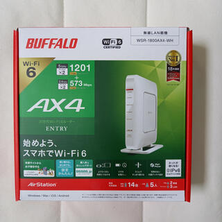 Buffalo - BUFFALO  バッファロー ルーター WSR-1800AX4-WH