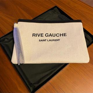 Saint Laurent - 新品 サンローラン パリ  クラッチバッグ リヴ ゴーシュ RIVEGAUCHE
