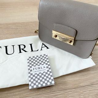 Furla - 新品未使用 フルラ FURLA メトロポリス グレージュ トープ
