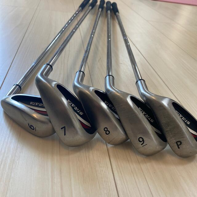 Callaway Golf(キャロウェイゴルフ)の美品 キャロウェイストラータ アイアンセット ゴルフクラブ CALLAWAY  スポーツ/アウトドアのゴルフ(クラブ)の商品写真