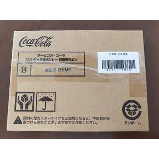 コカコーラ(コカ・コーラ)のコカ・コーラ バッジ 都道府県ピン 愛媛県 コカコーラ(ノベルティグッズ)