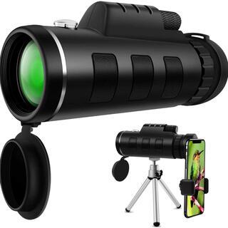 スマホ望遠レンズ 単眼望遠鏡 コンパクト 片手 高倍ズーム 単眼鏡 スマホ対応(レンズ(ズーム))