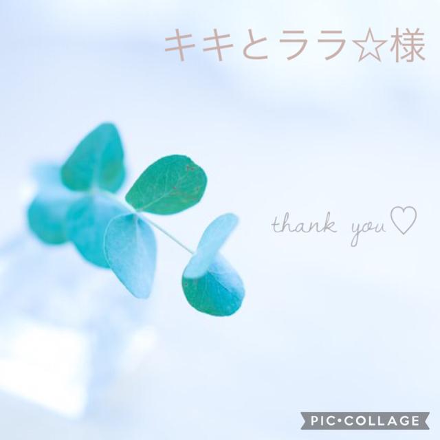 キキとララ☆様 レディースのアクセサリー(イヤリング)の商品写真