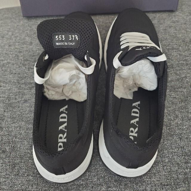 PRADA(プラダ)のPRADA プラダ ナイロンスニーカー 黒 新品 レディースの靴/シューズ(スニーカー)の商品写真