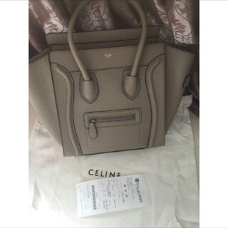 celine - 美品 セリーヌ マイクロ ラゲージ バッグ