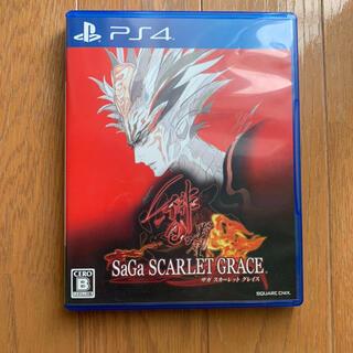 PlayStation4 - 動作確認済み サガ スカーレット グレイス 緋色の野望 PS4