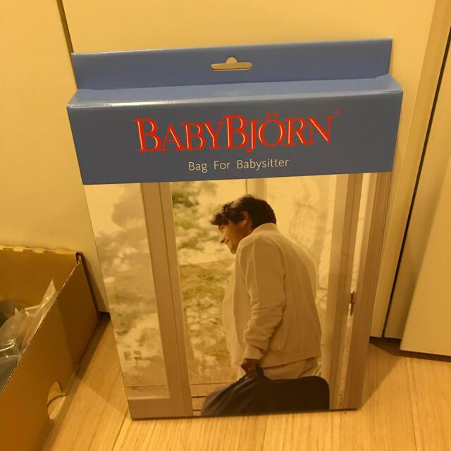 BABYBJORN(ベビービョルン)のベビービョルン バウンサー メッシュ ブラック 袋付き キッズ/ベビー/マタニティの寝具/家具(その他)の商品写真