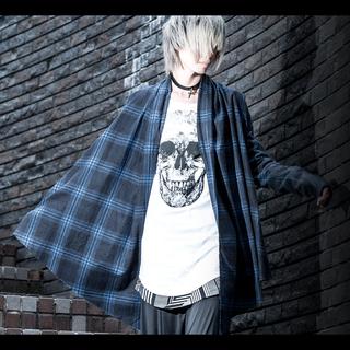 フーガ(FUGA)のCIVARIZE Mob スカルプリントTシャツホワイト(Tシャツ/カットソー(半袖/袖なし))