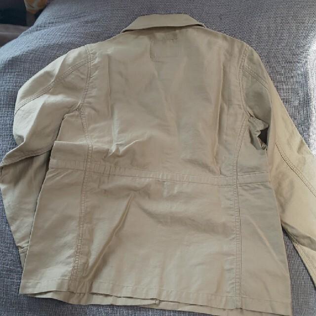 green label relaxing(グリーンレーベルリラクシング)のユナイテッドアローズ 麻混ジャケット レディースのジャケット/アウター(ミリタリージャケット)の商品写真