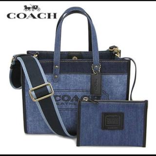 COACH - 【新品、正規品】人気商品❤️コーチ デニムトート トートバッグ  89163