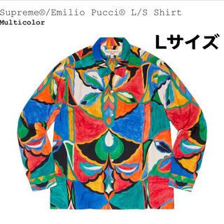 Supreme - Supreme × Emilio Pucci L/S Shirt プッチ L