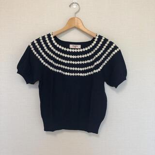 ティティアンドコー(titty&co)のtitiy&co♡サマーセーター(カットソー(半袖/袖なし))