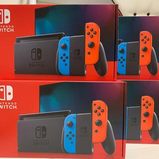 Nintendo Switch - 【新品未開封】任天堂 スイッチ ネオン 本体 Nintendo Switch
