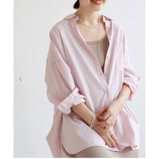IENA - コットンシルクbigシャツ IENA