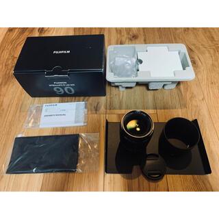 フジフイルム(富士フイルム)の個人出品 外観新品同様フジノンレンズ XF90mmF2 R LM WR 付属品付(レンズ(単焦点))