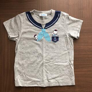 familiar - ファミリア familiar Tシャツ セーラー風 半袖
