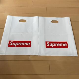 シュプリーム(Supreme)のNY本店 シュプリーム ショップバッグ 2枚(ショップ袋)