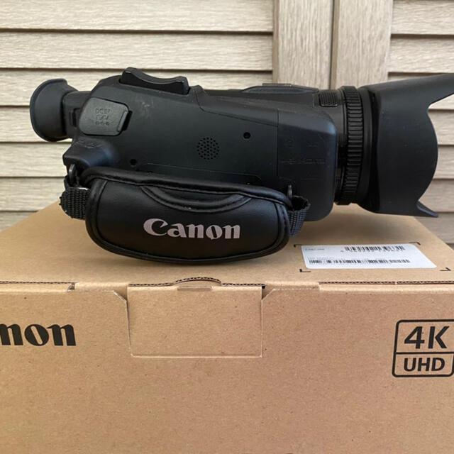 Canon(キヤノン)の【新品同様!】CanonXA40 スマホ/家電/カメラのカメラ(ビデオカメラ)の商品写真