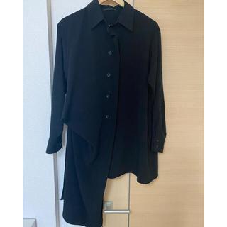 ヨウジヤマモト(Yohji Yamamoto)のyohji yamamoto +noir 20ss トリポリタキシードシャツ(シャツ/ブラウス(長袖/七分))