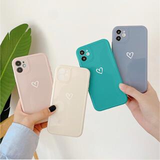 iPhoneケース スマホケース かわいい おしゃれ シンプル ハート 春 韓国(iPhoneケース)