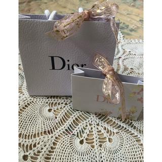 ディオール(Dior)のディオール 紙袋 ショッパー プレゼントボックス リボン(ショップ袋)