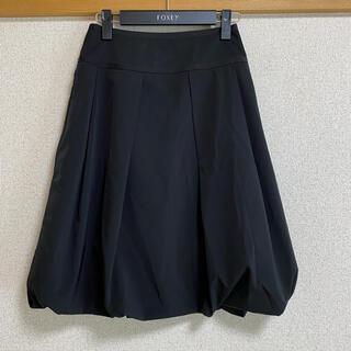 フォクシー(FOXEY)のFOXEYバルーンスカート38(ひざ丈スカート)