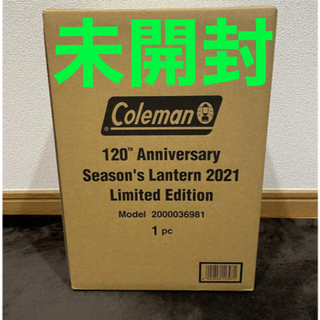 Coleman - ガソリンランタン 120周年シーズンズランタン coleman