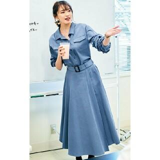 JUSGLITTY - 新品タグ付き JUSGLITTY♡20SS ベルテッドシャツ セットアップ