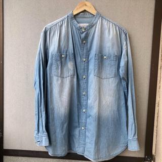 コモリ(COMOLI)のbukht no collar shirts (シャツ)
