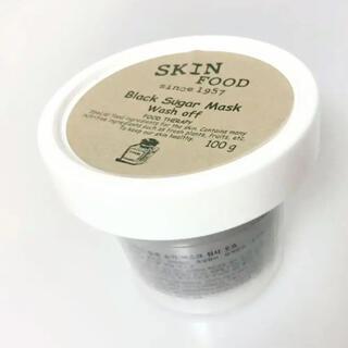 スキンフード(SKIN FOOD)の新品・スキンフード ブラックシュガーマスクウォッシュオフ(パック/フェイスマスク)