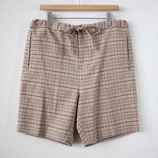 コモリ(COMOLI)のauralee silk summer tweed short パンツ 美品(ショートパンツ)