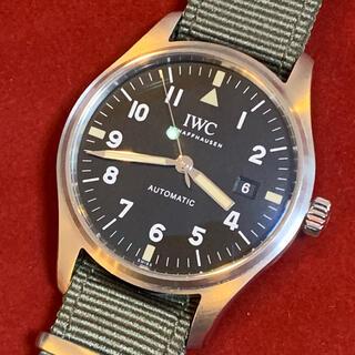 インターナショナルウォッチカンパニー(IWC)のIWC マーク18 Tribute to マーク11 付属品有 IW327007(腕時計(アナログ))