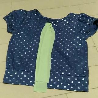 ハッカキッズ(hakka kids)のHAKKA KIDS カットソーサイズ100(Tシャツ/カットソー)