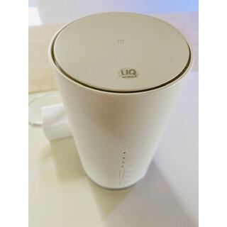 au SPEED WIFI HOME L01s wifiルーター(その他)