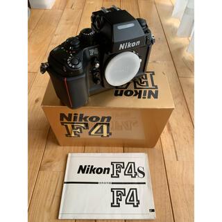 ニコン(Nikon)のNikon F4 本体とバッテリーパック(オマケ)(フィルムカメラ)