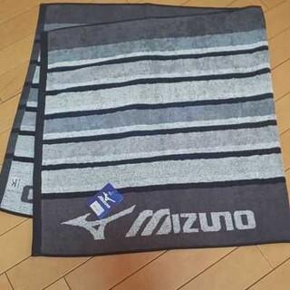 ミズノ(MIZUNO)の新品 MIZUNOミズノバスタオル グレー(タオル/バス用品)