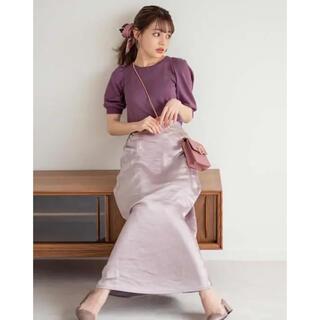 グレイル(GRL)のGRL サテンスカート(ロングスカート)