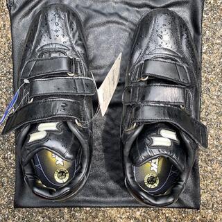 エスエスケイ(SSK)のスパイク 野球 27センチ スーパーナインBT ブラック 黒(シューズ)
