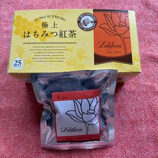 新作ラクシュミー水出し完熟リンゴ&極上はちみつ紅茶25パック(茶)